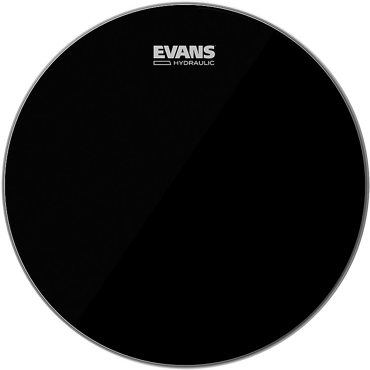 Evans Hydraulic Black Tom Batter Drumhead  14 in.