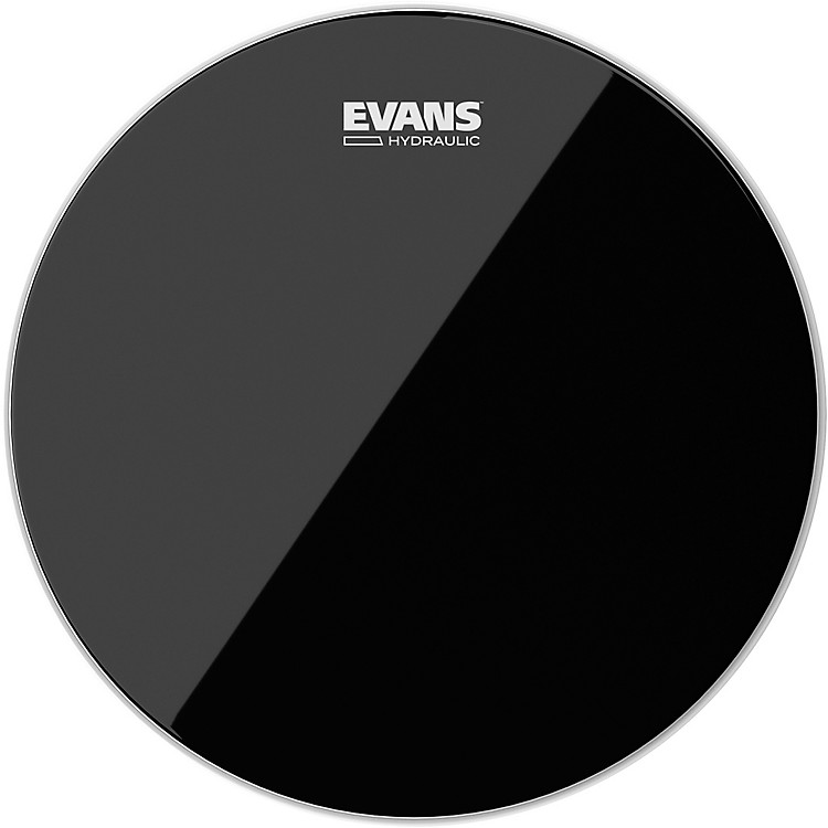 Evans Hydraulic Black Tom Batter Drumhead  6 IN