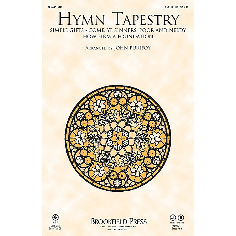 BrookfieldHymn Tapestry Brass Accompaniment Arranged by John Purifoy