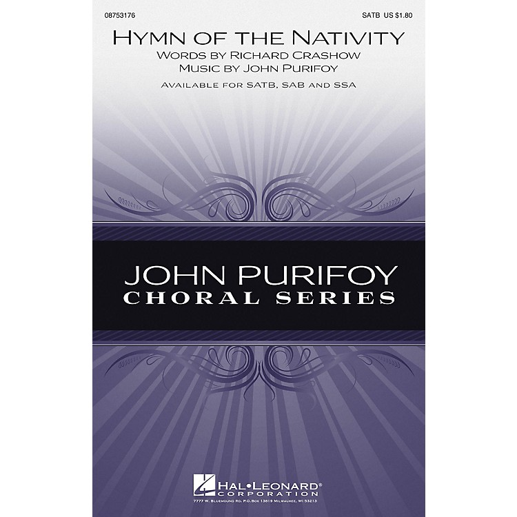 Hal LeonardHymn of the Nativity SSA