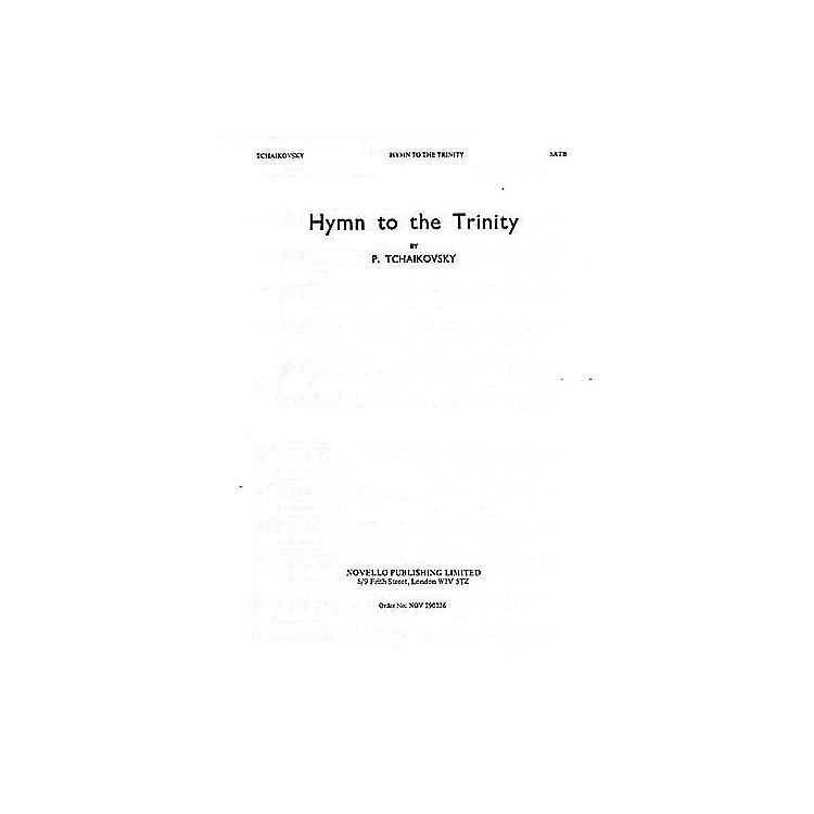 NovelloHymn to the Trinity SATB Composed by Pyotr Il'yich Tchaikovsky