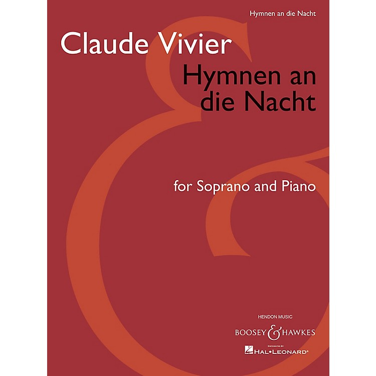 Boosey and HawkesHymnen an die Nacht (Score and Parts) Boosey & Hawkes Chamber Music Series Composed by Claude Vivier