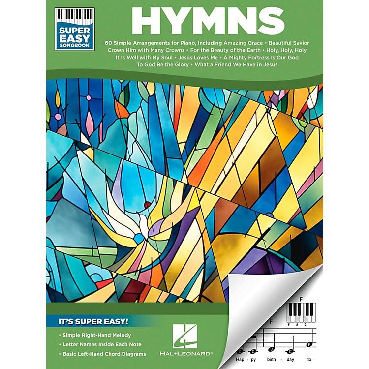 Hal LeonardHymns - Super Easy Songbook
