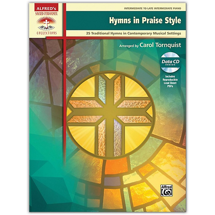 Alfred Hymns in Praise Style, Book & CD (includes PDFs of Lead Sheets), Intermediate / Late Intermediate