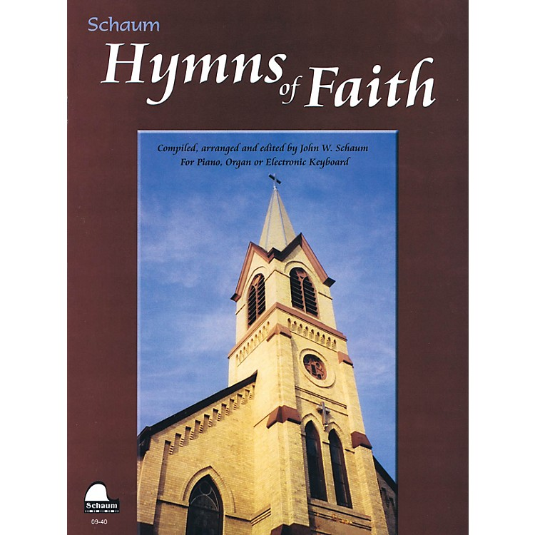 SCHAUMHymns of Faith Educational Piano Series Softcover