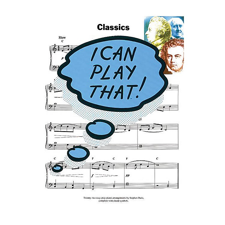 Music SalesI Can Play That! Classics Music Sales America Series Softcover