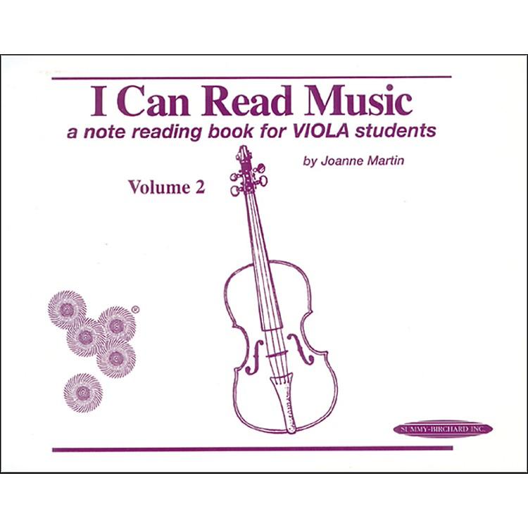 AlfredI Can Read Music for Viola, Volume 2 Book