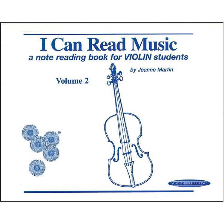 AlfredI Can Read Music for Violin, Volume 2 Book
