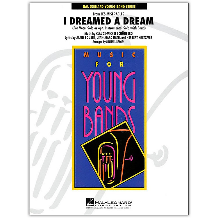 Hal Leonard I Dreamed A Dream Band Set & Score