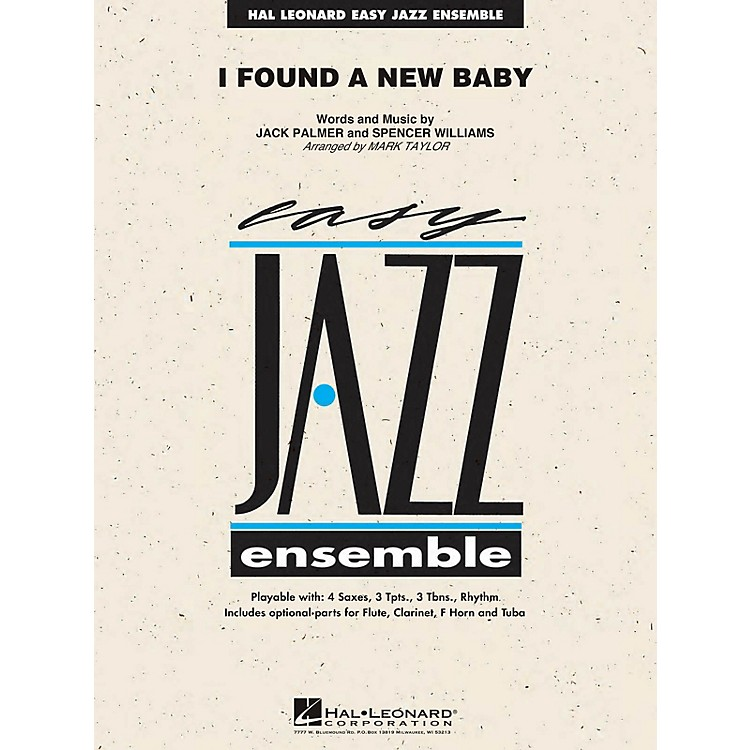 Hal Leonard I Found a New Baby Jazz Band Level 2 Arranged by Mark Taylor