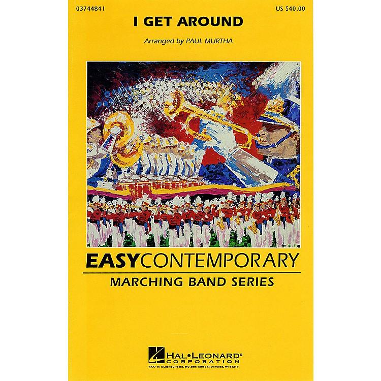 Hal LeonardI Get Around Marching Band Level 2-3 by The Beach Boys Arranged by Paul Murtha