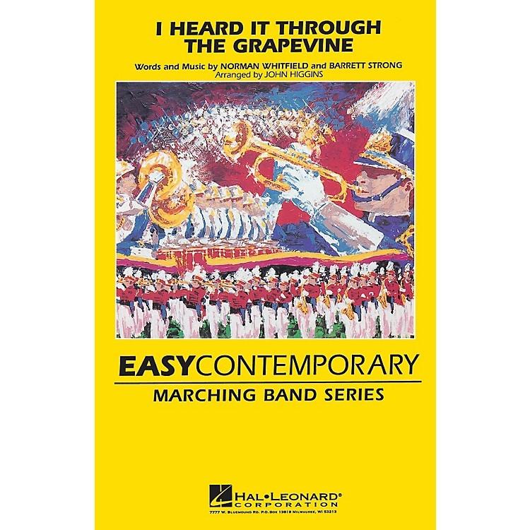 Hal Leonard I Heard It Through the Grapevine Marching Band Level 2 Arranged by John Higgins