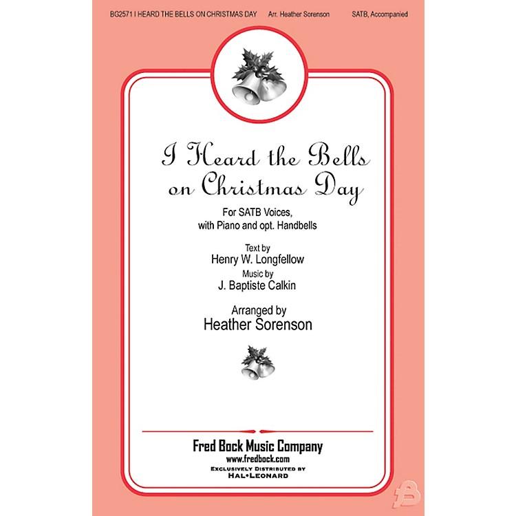 Fred Bock MusicI Heard the Bells On Christmas Day Accompaniment CD Arranged by Heather Sorenson