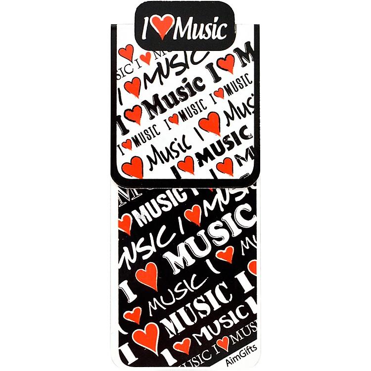 AIMI Love Music Magnet Bookmark