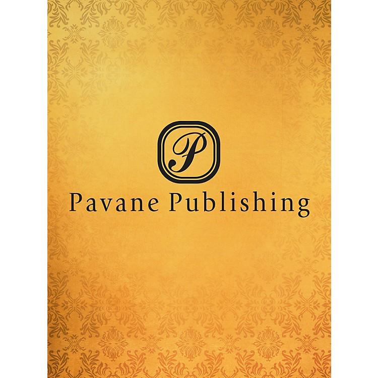 PavaneI Place My Trust in You SATB Arranged by Allan Robert Petker