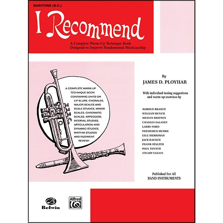 AlfredI Recommend Baritone (B.C.)