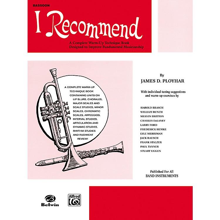AlfredI Recommend Bassoon