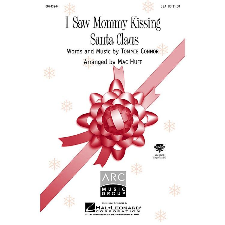 Hal LeonardI Saw Mommy Kissing Santa Claus ShowTrax CD Arranged by Mac Huff
