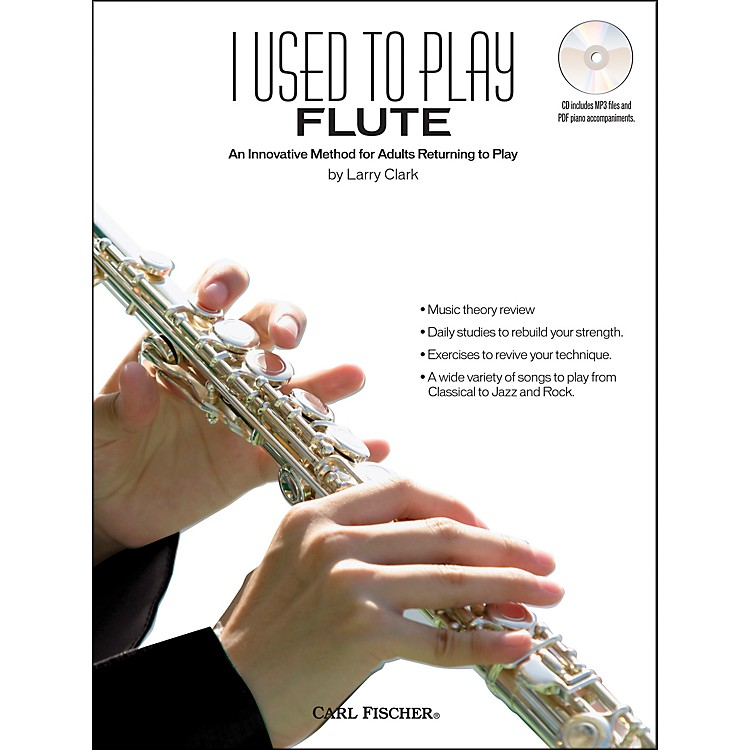 Carl Fischer I Used To Play Flute Book/CD