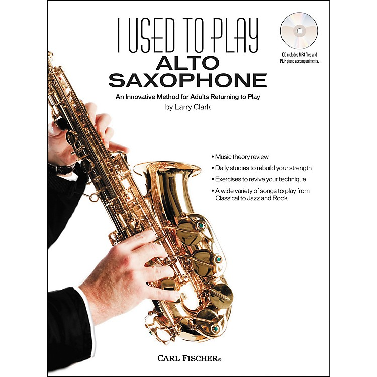 Carl FischerI Used to Play Alto Sax Book/CD