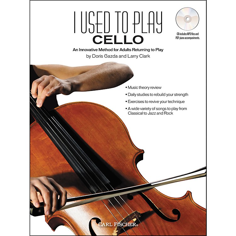Carl Fischer I Used to Play Cello Book/CD