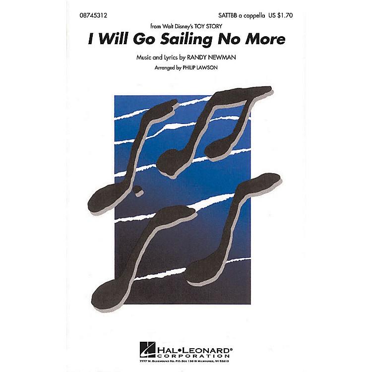Hal LeonardI Will Go Sailing No More SATTBB A Cappella arranged by Philip Lawson