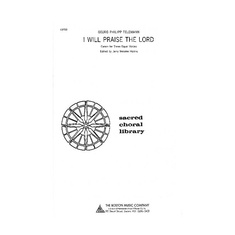 Music SalesI Will Praise the Lord