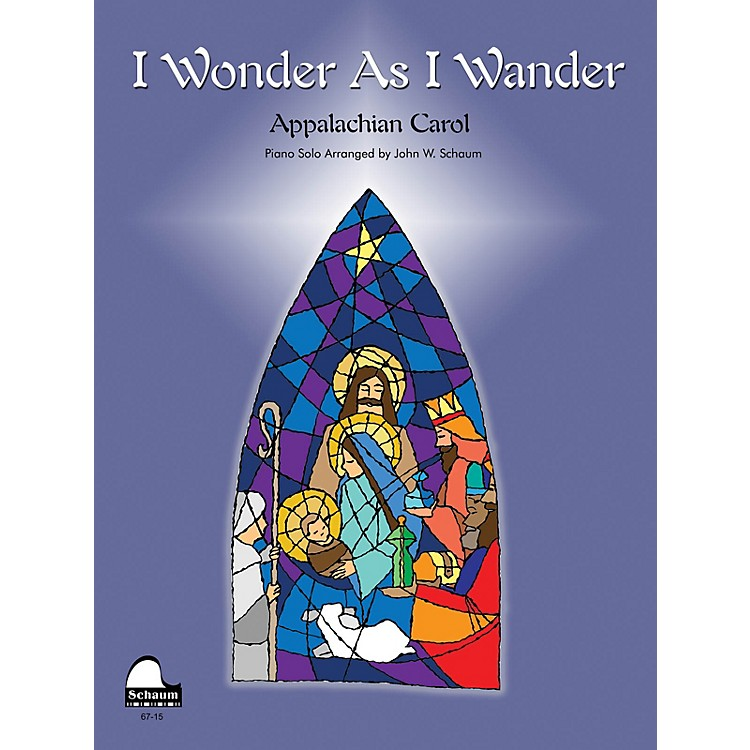 SCHAUMI Wonder as I Wander Educational Piano Series Softcover