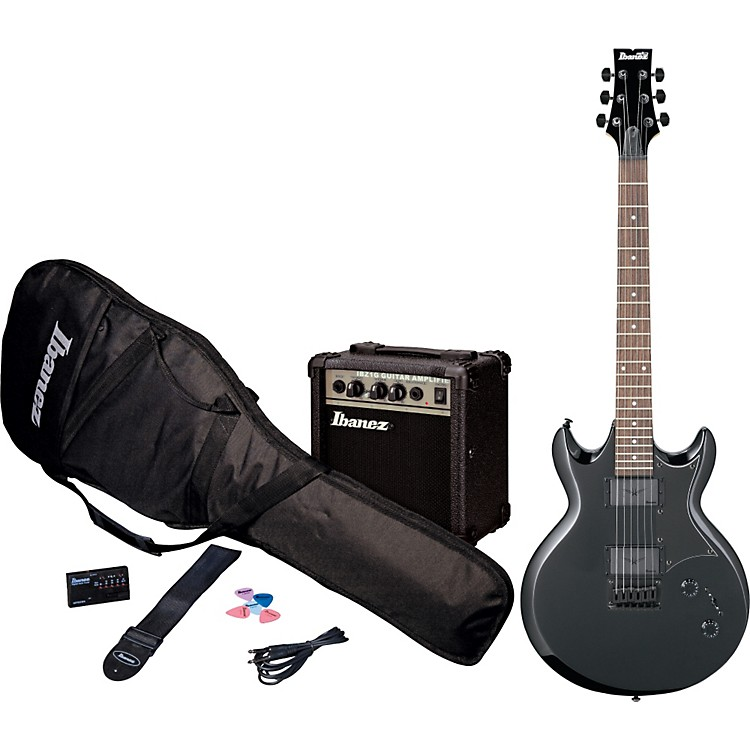 IbanezIJX30 Jumpstart Electric Guitar MetalpakBlack Night