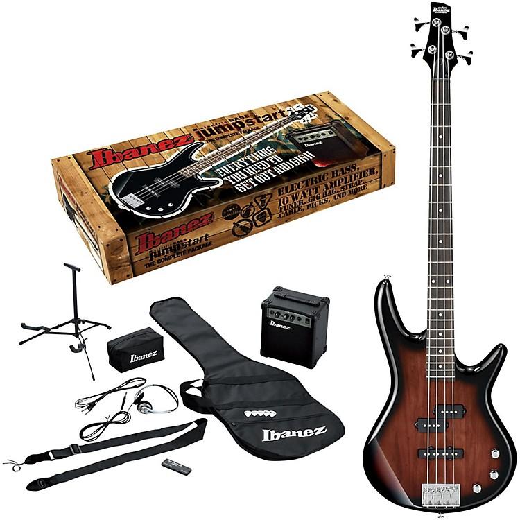 IbanezIJXB150B Jumpstart Bass PackageWalnut Sunburst
