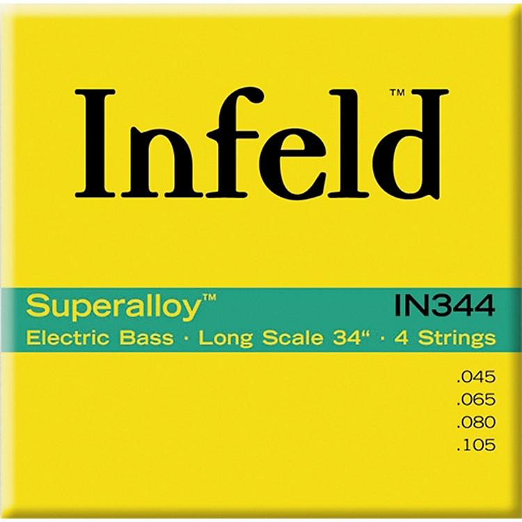 ThomastikIN344 Superalloy 4-String Bass Regular Scale