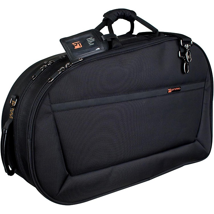 ProtecIPAC Deluxe Series Screw Bell French Horn CaseBlack