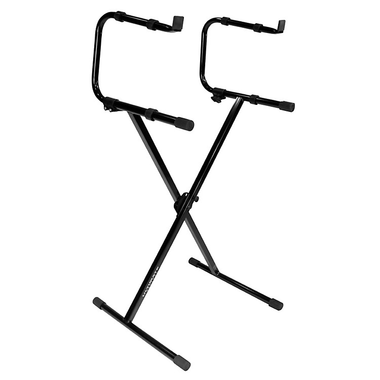 Ultimate SupportIQ-1200 2-Tier X-Style Keyboard Stand