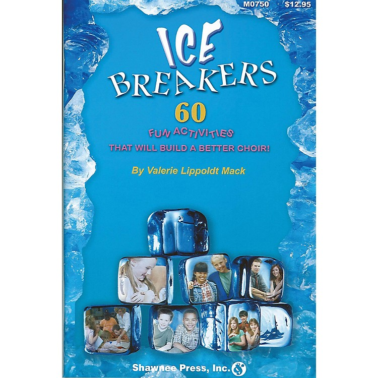 Shawnee PressIceBreakers (60 Fun Activities to Build a Better Choir) music activities & puzzles
