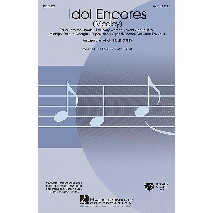 Hal LeonardIdol Encores ShowTrax CD Arranged by Alan Billingsley
