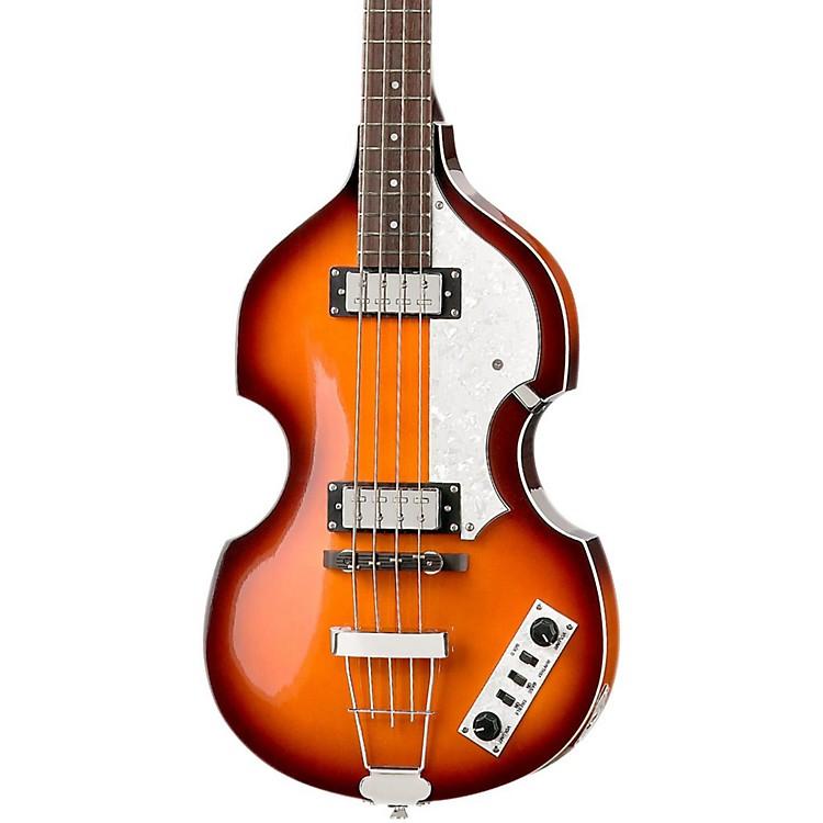 HofnerIgnition Series Vintage Violin BassSunburst with Case