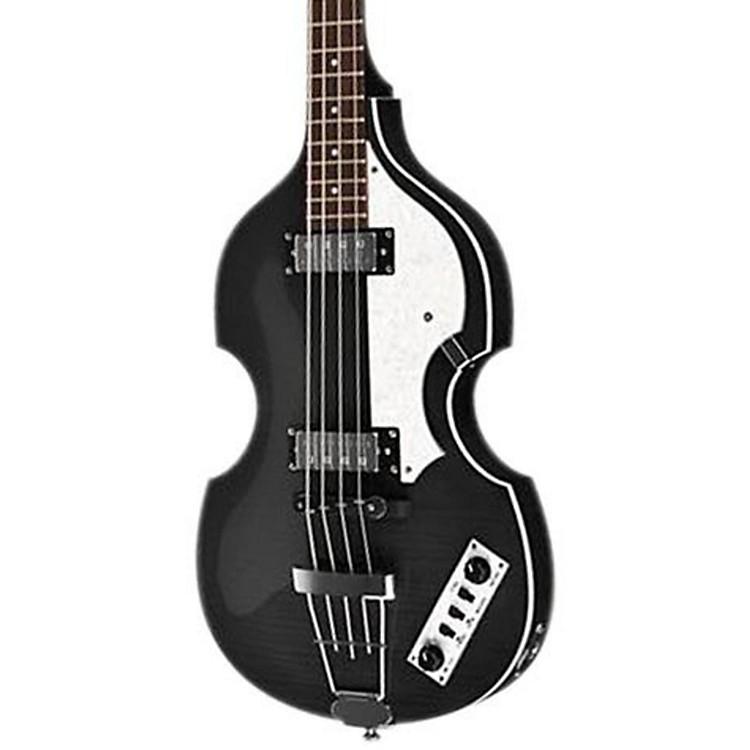 HofnerIgnition Series Vintage Violin BassTransparent Black
