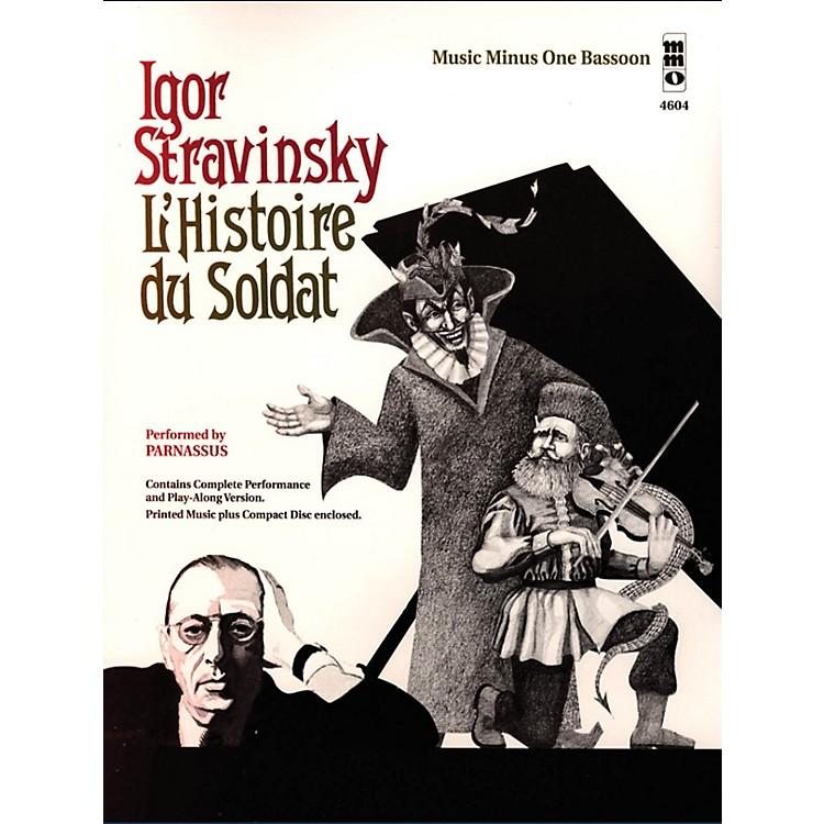 Music Minus OneIgor Stravinsky - L'histoire du Soldat Music Minus One Series Softcover with CD by Igor Stravinsky