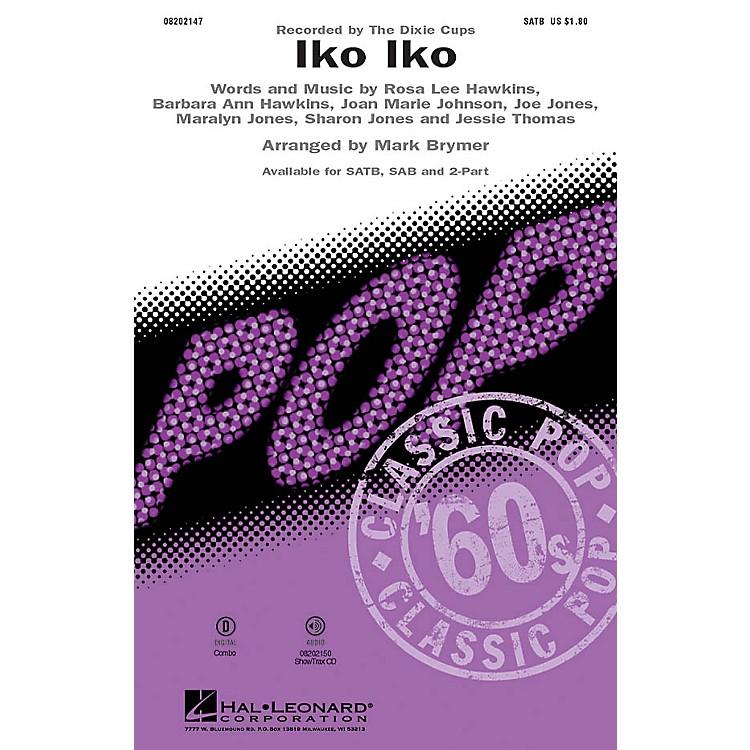 Hal LeonardIko Iko 2-Part by Dixie Cups Arranged by Mark Brymer