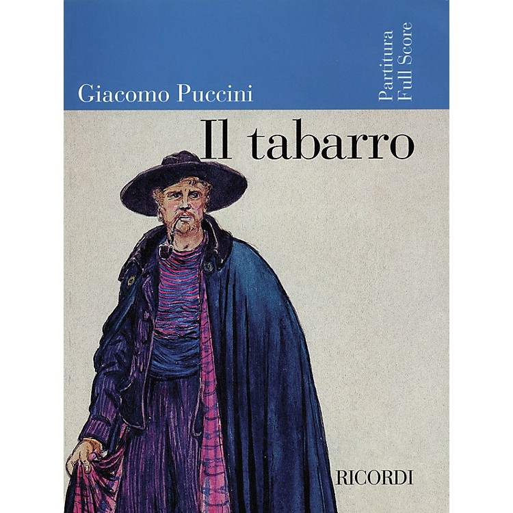 Ricordi Il Tabarro (Full Score) Misc Series  by Giacomo Puccini