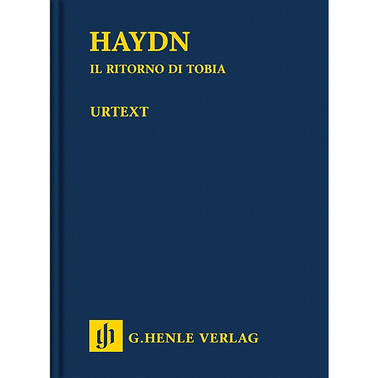G. Henle VerlagIl ritorno di Tobia Henle Study Scores Hardcover Composed by Joseph Haydn Edited by Ernst F. Schmid
