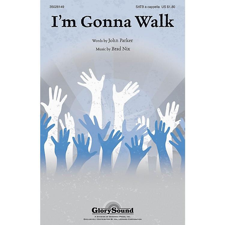 Shawnee PressI'm Gonna Walk SATB a cappella composed by Brad Nix