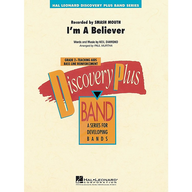 Hal LeonardI'm a Believer - Discovery Plus Concert Band Series Level 2 arranged by Paul Murtha