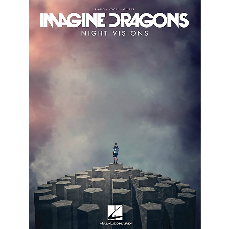 Hal LeonardImagine Dragons - Night Visions for Piano/Vocal/Guitar PVG