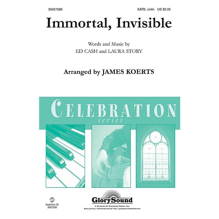 Shawnee PressImmortal, Invisible SATB, VIOLIN arranged by James Koerts