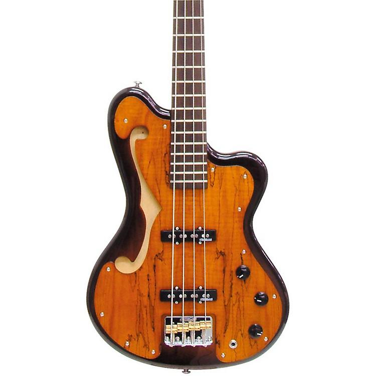 ItaliaImola Electric Bass GuitarTobacco Sunburst Burled