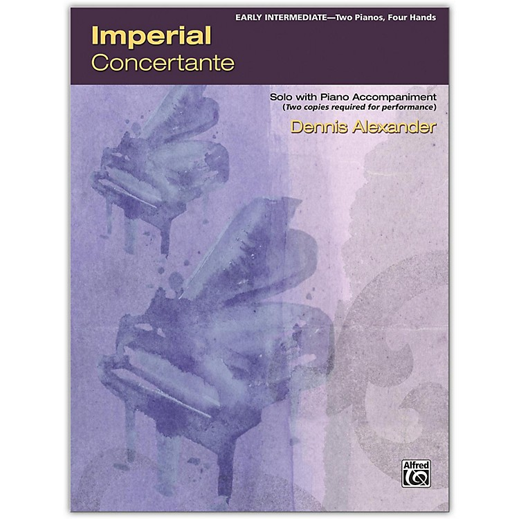AlfredImperial Concertante 2 copies required Early Intermediate