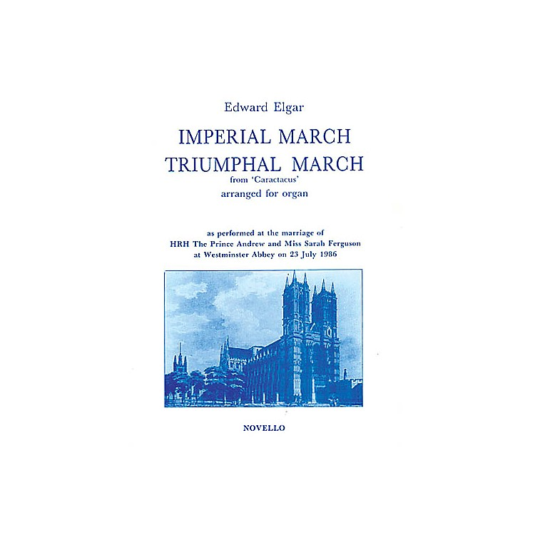 NovelloImperial March and Triumphal March for Organ Music Sales America Series