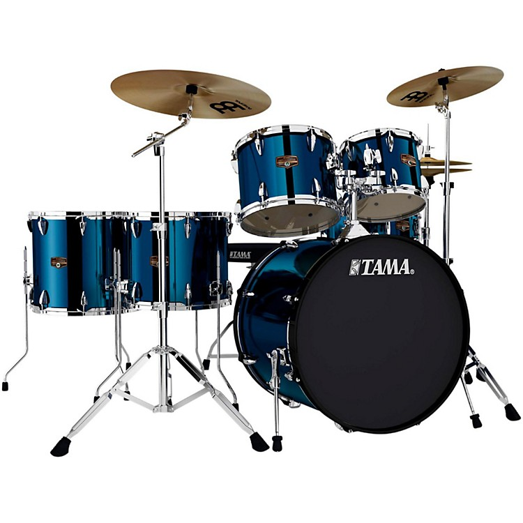 Tama Imperialstar 6-Piece Drum Set with Cymbals Midnight Blue