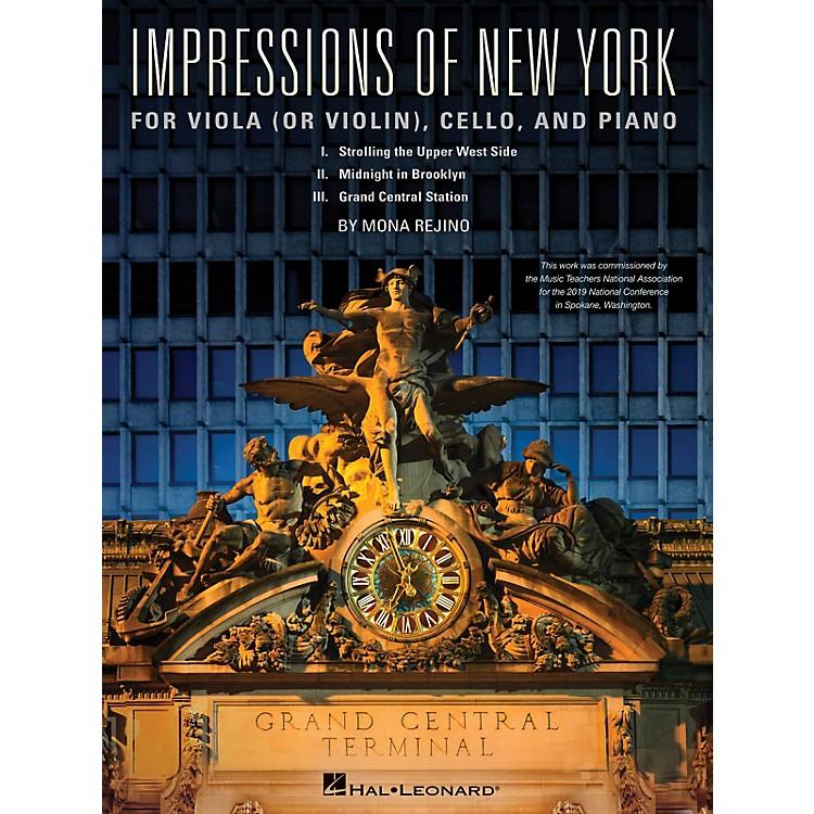 Hal LeonardImpressions Of New York For Viola (or Violin), Cello and Piano by Mona Rejino